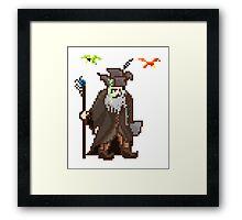 pixelgast the brown Framed Print