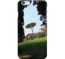 Looking Under the Umbrella Tree iPhone Case/Skin