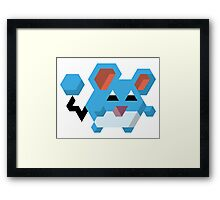 Marill Pokemon Framed Print