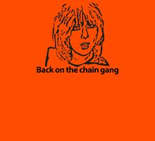 Back on the chain gang Womens Fitted T-Shirt