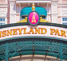 Disneyland Paris Entrance Sign by ThatDisneyLover