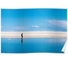 Reflection at Uyuni Poster