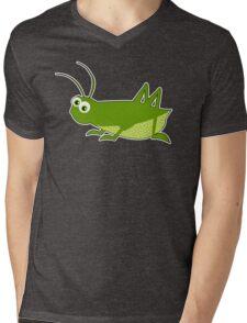 Lucky Cricket Mens V-Neck T-Shirt