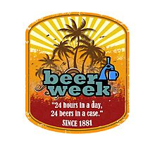 Beer Week Photographic Print