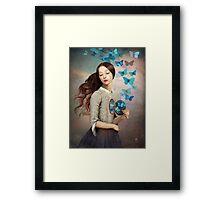 Set Your Heart Free Framed Print