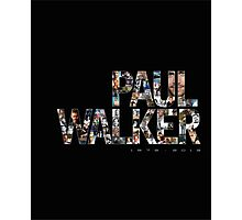 Paul Walker 2 Photographic Print