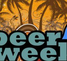 Beer Week Beer Time Sticker