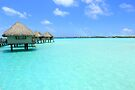 Endless Turquoise - Bora Bora by Honor Kyne