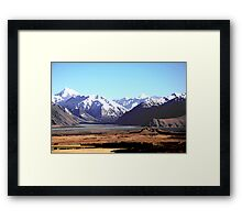 Mount Sunday Framed Print