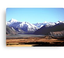 Mount Sunday Canvas Print