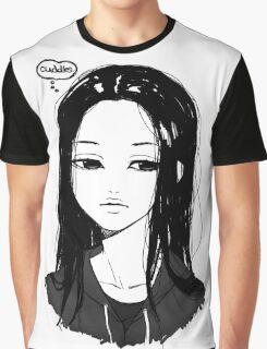Cuddles Please Graphic T-Shirt