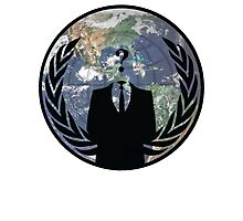 World Wide Anonymous Photographic Print