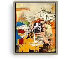 Curve of Forgetting  Canvas Print