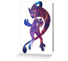 Mega Mewtwo Y used Psychic Greeting Card