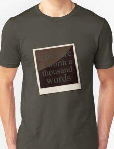 A Thousand Words Unisex T-Shirt