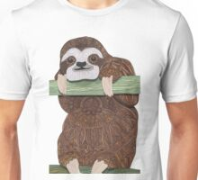 It's a sloth kind of day  Unisex T-Shirt