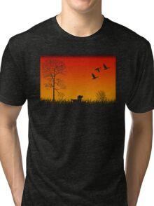 Real Duck Hunt Tri-blend T-Shirt