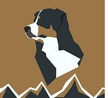 Bernese Mountain Dog by Taylor  Fueg