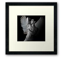 angel life  Framed Print