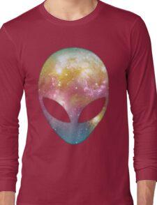 Space Alien Long Sleeve T-Shirt