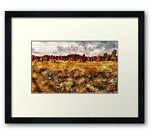 Prairie in a Dream Framed Print