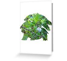Mega Venusaur used Razor Leaf Greeting Card