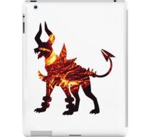 Mega Houndoom used Flamthrower iPad Case/Skin