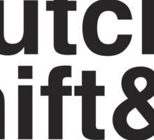 Gas & Clutch & Shift & Repeat. Sticker