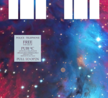 Galaxy TARDIS 2.0 Sticker