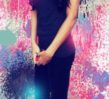 Naya Rivera: Vintage Colour Splash Sticker