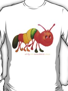 Happy Caterpillar  T-Shirt
