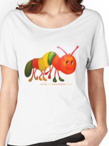 Happy Caterpillar  Women's Relaxed Fit T-Shirt