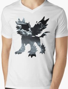 Mega Absol used Feint Attack Mens V-Neck T-Shirt