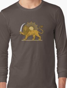 National Emblem of Iran, Provisional Government of Iran, 1979-1980 Long Sleeve T-Shirt