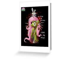 FlutterZombie - Poster Greeting Card
