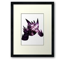 Mega Gengar used Shadow Ball Framed Print