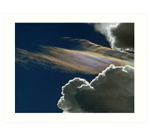 ©HCS Iridiscent Clouds IIIA Art Print