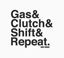 Gas & Clutch & Shift & Repeat. Mens V-Neck T-Shirt