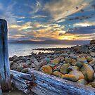 Dennes Point Dusk - Bruny Island, Tasmania by clickedbynic
