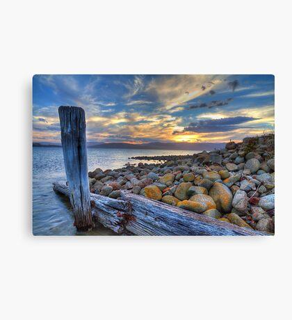 Dennes Point Dusk - Bruny Island, Tasmania Canvas Print