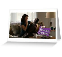 SNL Brownie Husband Greeting Card