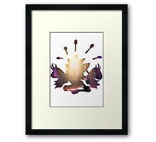 Mega Alakazam used Future Sight Framed Print