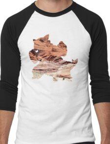 Mega Kangaskhan used Dizzy Punch Men's Baseball ¾ T-Shirt