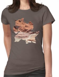 Mega Kangaskhan used Dizzy Punch Womens Fitted T-Shirt