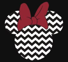 Minnie Mouse Chevron by sweetsisters