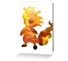 Mega Ampharos used Thunder Greeting Card