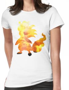 Mega Ampharos used Thunder Womens Fitted T-Shirt