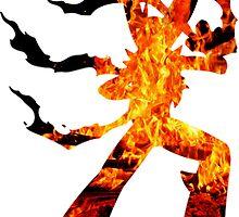 Mega Blaziken used Blast Burn by Gage White