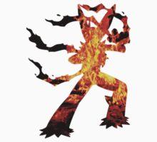 Mega Blaziken used Blast Burn T-Shirt