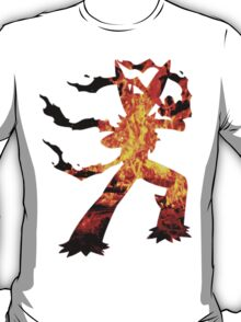 Mega Blaziken used Blast Burn T-Shirt